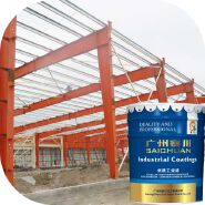 MSDS Certificate steel beam fireproofing paint, intumescent paint steel fire protection, fire rated spray paint