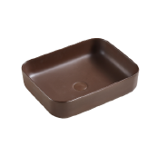 Chinese matt black color and special pattern Sanitary wash basin