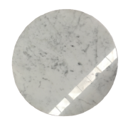 Designer Coffee Table Modern Marble Top For Home Furniture Carrara White Vanity Countertop with Grey Veins