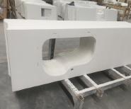 2020 New Design Faux Quartz Solid Surface Kitchen Worktop , Kitchen Granet Benchtop Countertops