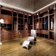 Aqua Gallery(Sichuan)Building Materials Co., Ltd. Solid Wood Closet