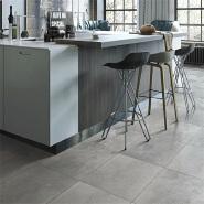 600*600 3D Grey Granite Ceramic Floor Tiles Standard Size
