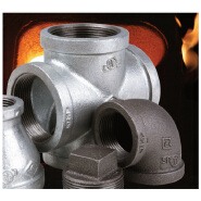 New Arrived Quick Lead Malleable iron pipe fittings elbow reducer tee coupling flange cap YKL-MGPF