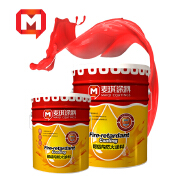 Maiqi Epoxy Paint Anti Rust Fireproof Paint Coating for wood house Steel Building Materials Walls Pipes
