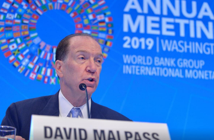 World Bank chief, a Trump appointee, 'deeply appalled' by storming of U.S. Capitol