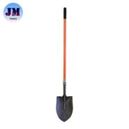 Steel Shovel Agriculture Farming Digging Tool shovel with fiberglass handle S518FL, S518FL