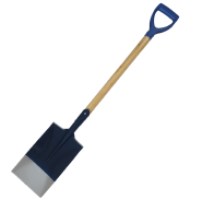 Farming Tool Spade Shovel with handle shovel with wood handle D grip