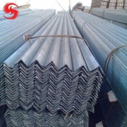 A36 Construction Material mild steel Angle Iron / Equal Angle Steel Bar Price