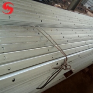 Q235 A36 S235JR Slotted Iron Bar 50x50x5 galvanized equal angle steel