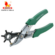 Metal Leather Set Revolving Hole Punch Pliers