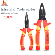 Multi functional cutting pliers VDE Insulated Handle Long Nose Plier cable cutters