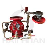 flange ends diaphragm 100mm alarm deluge valve prices ZSFM100/150/200