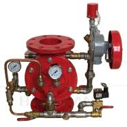 flange ends diaphragm 100mm alarm deluge valve prices