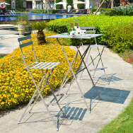 Weilai Yishang(Hangzhou) Import And Export Trading Co., Ltd. Outdoor Steel Table and Chair