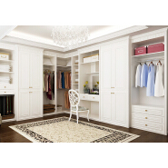 High quality particle board 3 door bedroom pvc wardrobe