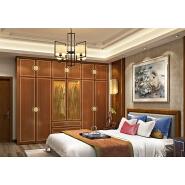 French style PVC cabinet furniture bedroom designs 6 door wardrobe