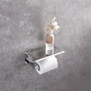 HIDEEP bathroom accessories paper towel holder with top cover SUS304 bathroom paper towel holder