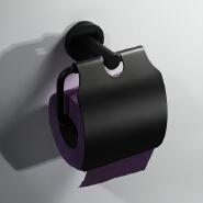 HIDEEP Bathroom Accessories Bathroom Towel Rack Kitchen Towel Rack Black Stainless Steel