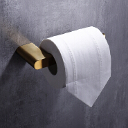 HIDEEP bathroom accessories stainless steel brushed gold toilet paper holder