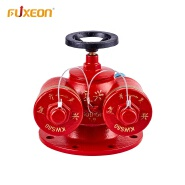 Hot New Products Standard Red Casting Iron 200Mm Fire System Gate Valve