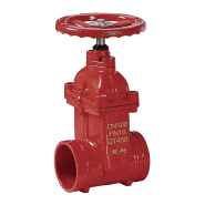 High quality & best price grooved end fire signal valve