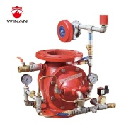 Hot sale electric wet alarm valve for fire fighting system