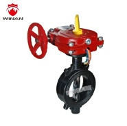 UL FM Grooved Type Butterfly Valve UL Listed FM Approved