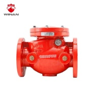 UL FM 300 PSI Flanged End Swing Check Valve FM Approved UL listed