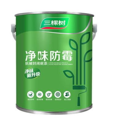 SKSHU paint interior wall clean flavor mildew anti-alkali sealing primer wall paint environmental small bucket paint coating 7KG