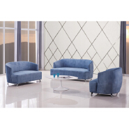 Factory price wholesale couch living room home office furniture reclinable Velvet sofa