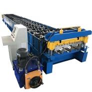 Steel Deck Roll Forming Machine Floor Tile Decking Making Machine