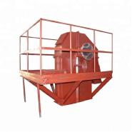 High temperature vertical z type plate chain bucket elevator
