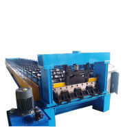 floor Metal steel profile deck cold roll forming machine for Mexico on sale