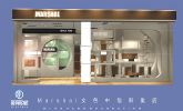 Marsheal women's bags/bags/leather goods CITIC Square store design and construction