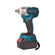 High torque industrial lithium-Ion wireless impact wrench rechargeable brushless electric impact wrench