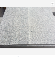 Cheapest China Manufacture G603 granite floor tiles Granite slab polishing salt and pepper granit flamed Surface