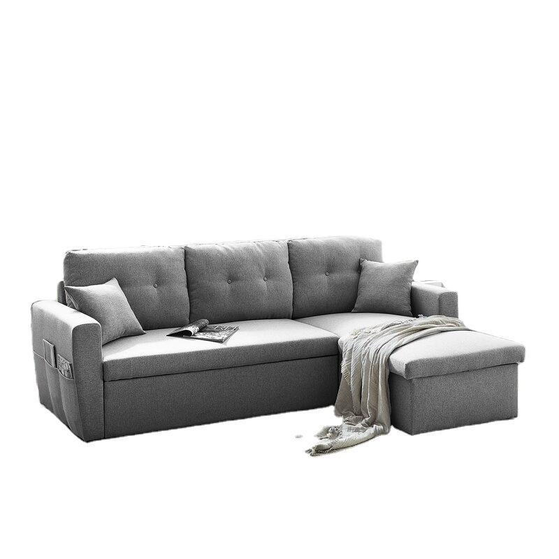 Victor New Designs Popular Living Room, L Shaped Sleeper Sofa