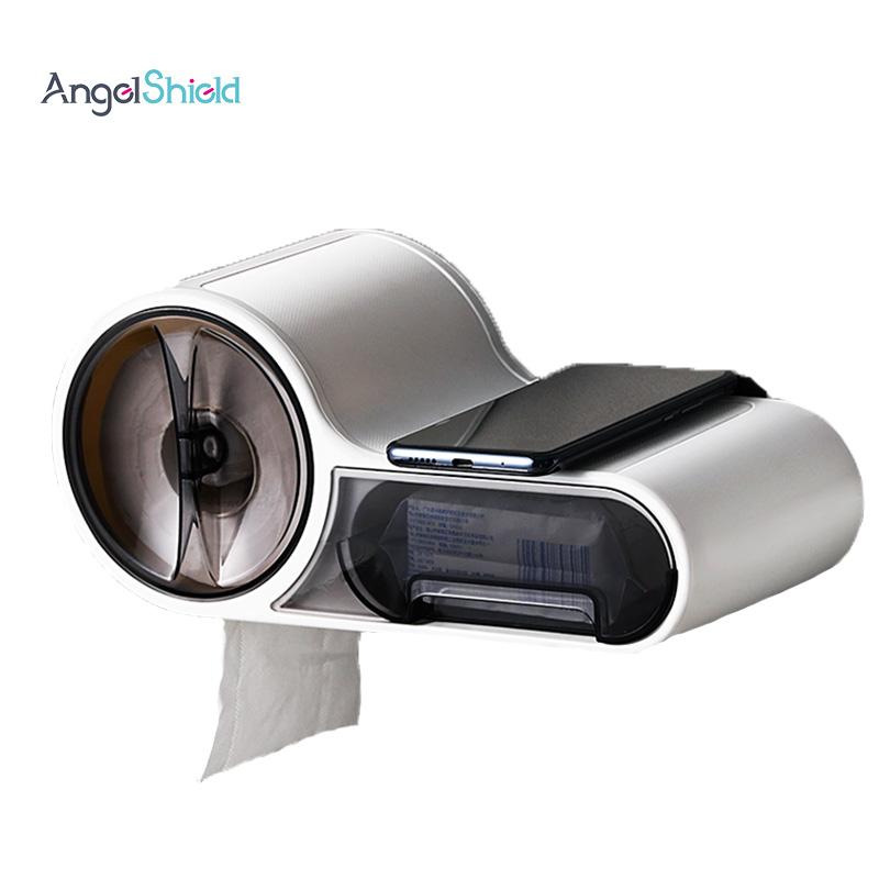 BA02-006 Angel Shield Amazon Hot Selling Custom Logo Luxury Facial Custom Plastic Acrylic Tissue Paper Box