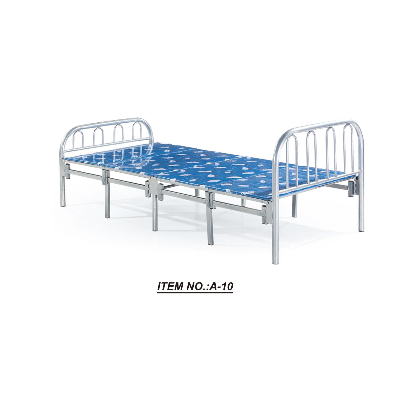 Hot sale cheap single folding metal beds