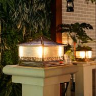 Zhongshan Green Light Lighting Co., Ltd. Solar Power Pillar Lamps