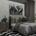 African, Traditional bedroom
