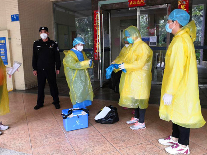 Guangzhou's latest local infections linked to variant first found in India
