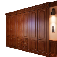 Michael Tower W MDF Lacquer Closet
