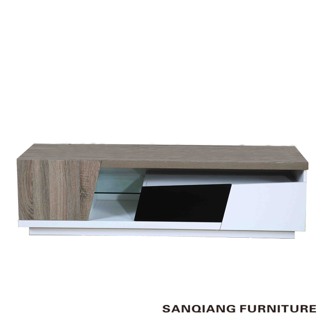 SANQIANG modern wooden furniture lcd tv stand pictures