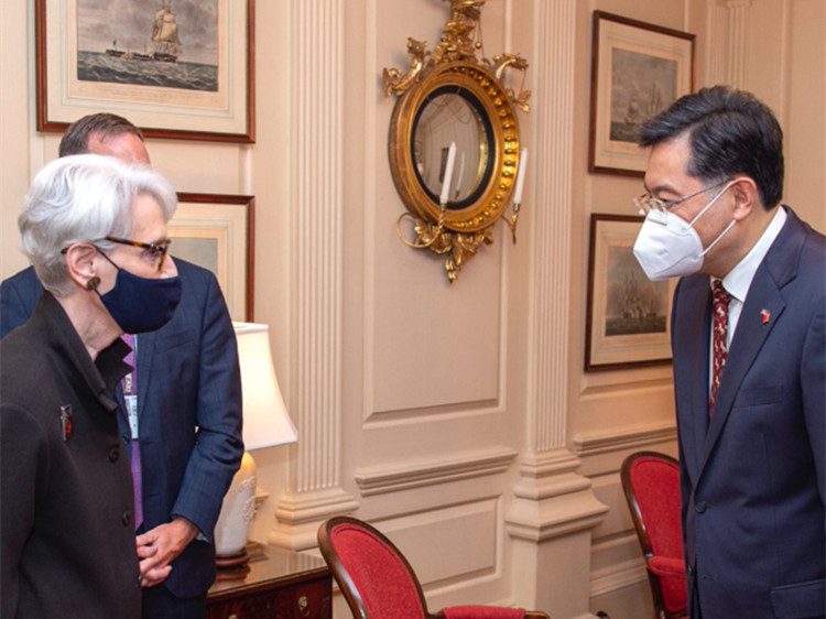 Chinese ambassador holds 'in-depth, candid' meeting with U.S. diplomat