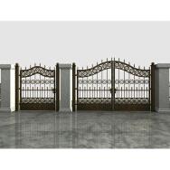 Zhangzhou Chinavcast Casting Aluminum Product Co., Ltd. Iron Gate Doors