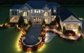 Luxury Mansion villa design and landscape