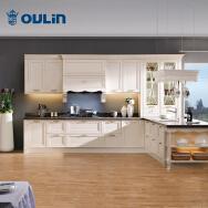 Ningbo Oulin Kitchen Utensil Co., Ltd. Solid Wood Cabinets