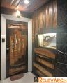Elegant Main Door With Customised Design
