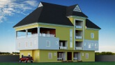 Three bedroom apartment with pent house